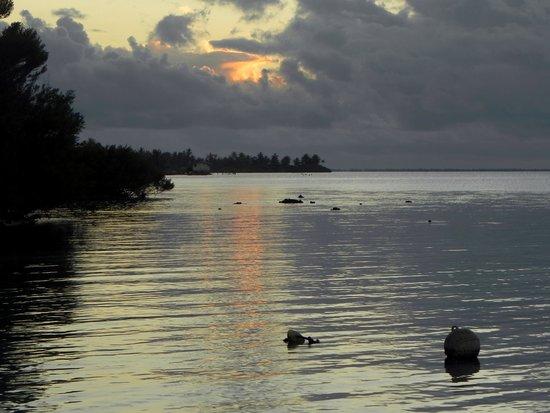 Pension Poerani Nui: avant que le ciel ne s'embrase