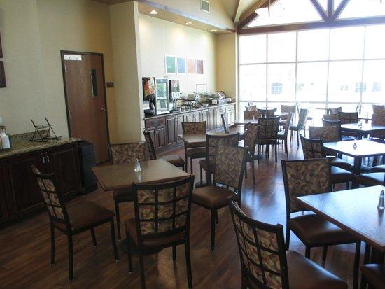 Comfort Inn Downtown : Petit déjeuner