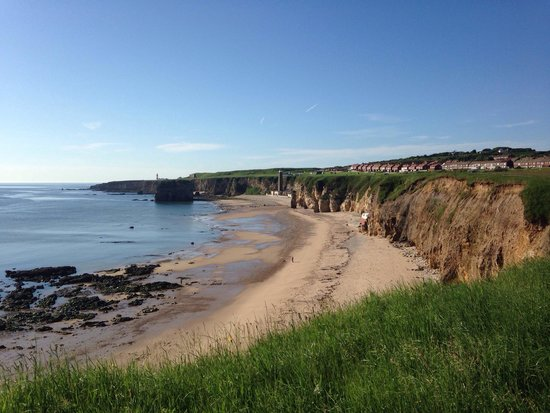 Marsden Beach: I'm not sure what people want from a beach and cliff location but marsden bay ticks my box.