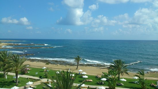 Constantinou Bros Athena Royal Beach Hotel: view from our room (2257)