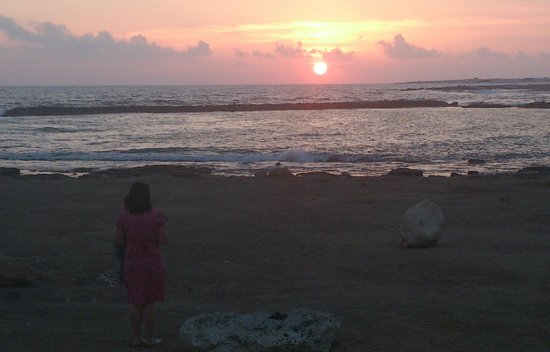 Constantinou Bros Athena Royal Beach Hotel: sunset in Cyprus