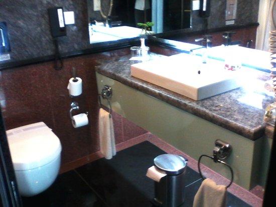 Le Meridien Bangalore : Bathroom