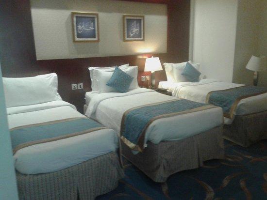 Al Eman Royal Hotel : Kondisi Kamar