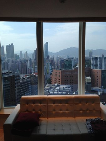 Hotel Madera Hong Kong: looking out onto Nathan Road