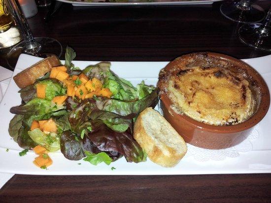 La table du boucher : Camembert rôti...