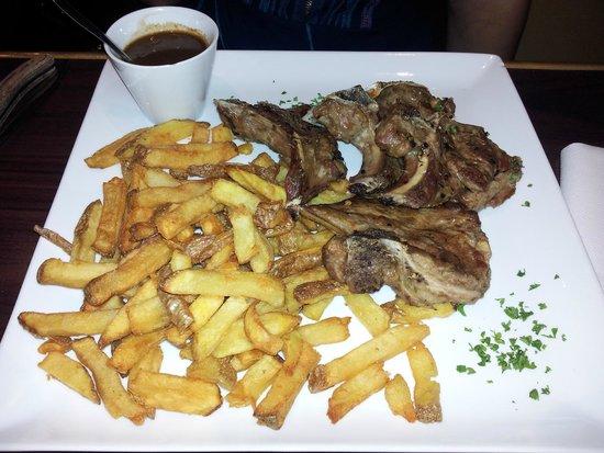 La table du boucher : Côtelettes d'agneau