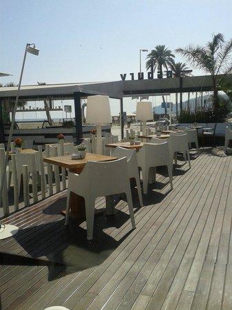 Fosbury Café: Terraza