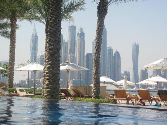 Fairmont The Palm, Dubai: Toller Ausblick