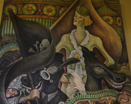 Palacio de Bellas Artes: el hombre en el cruze de camino 2
