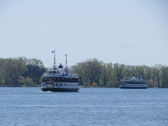 Toronto Islands Ferries : Island ferries crossing