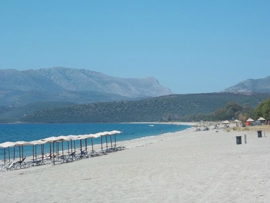 Mavrovouni Beach: Παραλία Μαυροβουνίου
