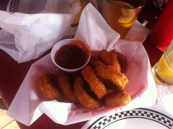 Cool Cat Cafe: Best onion rings ever!!