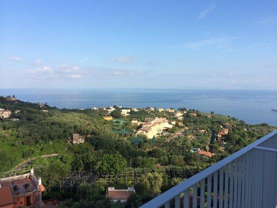 Grand Hotel Aminta: Balcony room view