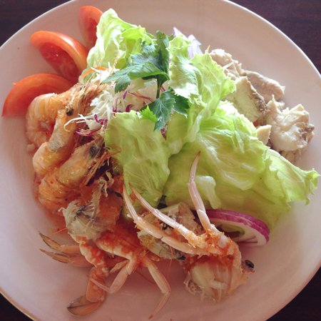 Daddy's cafe: Fresh seafood salad