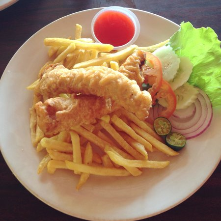Daddy's cafe: Fish & chips