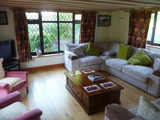 Tremaine Farm: living room