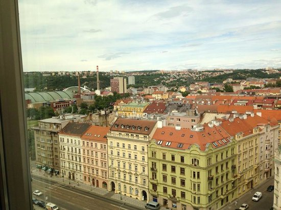 Parkhotel Praha: View from the 10th floor