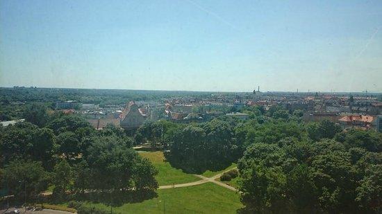 Novotel Poznan Centrum: widok z okna