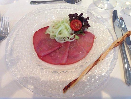 Hotel Belvedere Locarno: Antipasto di salmone