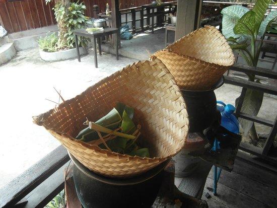 Tamarind Cooking Courses: Fisch, gedämpft im Bananenblatt