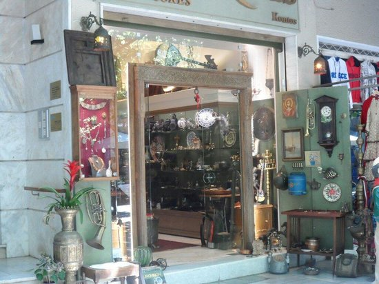 Antique shop in plaka