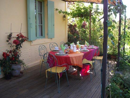 Au Jardin : petit déjeuner