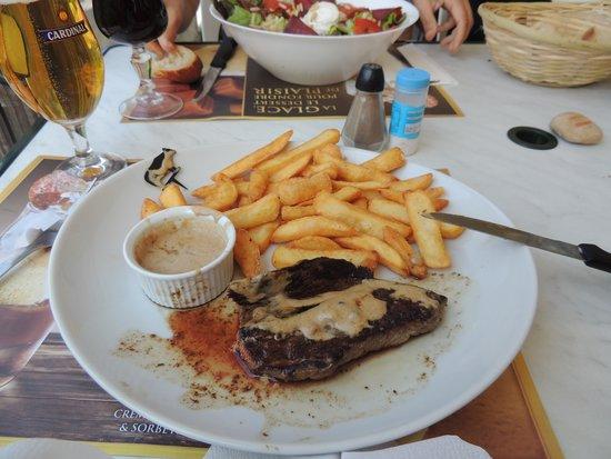 La Guinguette des Gorges de l'Ain: un menù