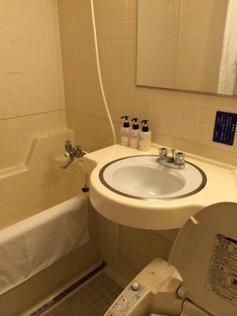 Moon Beach Palace Hotel: Toilet