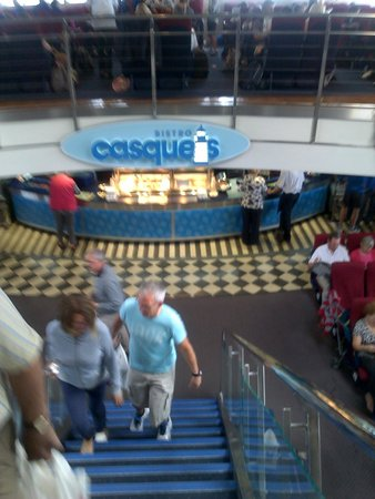 Condor Ferries - Day Trips: Café, brasserie