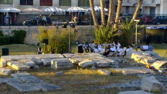 Tempel des Apollo (Tempio di Apollo): I giovani musicisti al Tempio