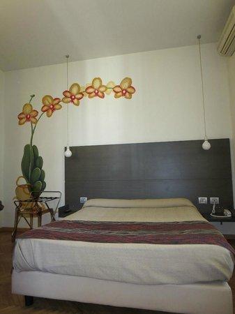Hotel Tirreno: Stanza