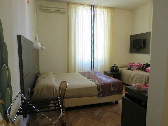 Hotel Tirreno : Stanza