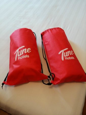 Red Planet Cebu: Toiletry kits