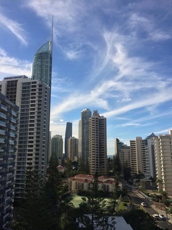 Surfers Beachside Holiday Apartments: High Rise Buildings View