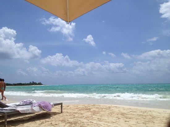 Paradisus Playa del Carmen La Perla: The beach