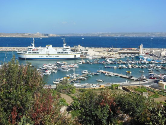 Grand Hotel Gozo: view from the balcony