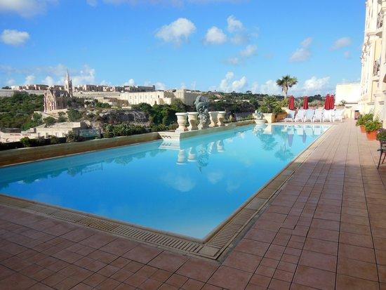 Grand Hotel Gozo: swimming pool