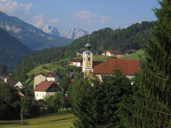 Haus Loidl: Blick St.Gallen