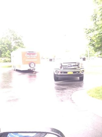 Extended Stay America - Cincinnati - Blue Ash - Reed Hartman: truck and trailer in parking lot taking up 7 spaces was there 3 days! we had to parked next door