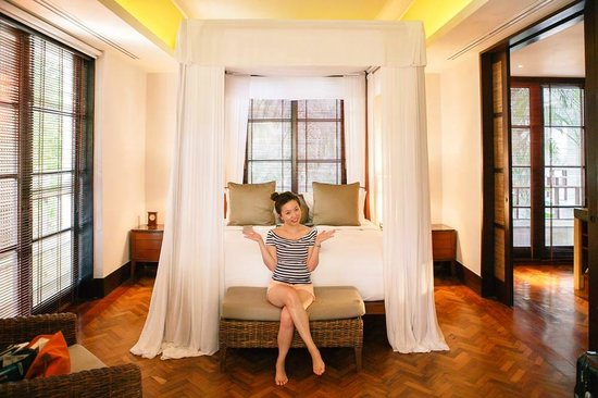 The Legian Bali: our room!