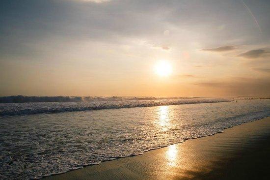 The Legian Bali: the beach