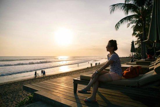The Legian Bali: superb view!