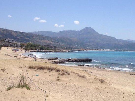 Villas Libra: Falasarna beach