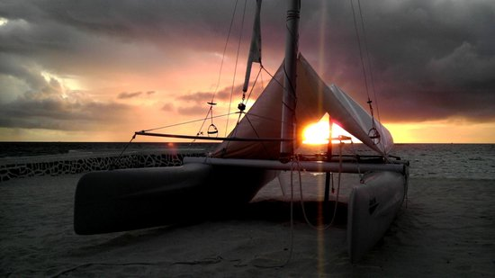 VOI Maayafushi Resort: Il tramonto a Maayafushi