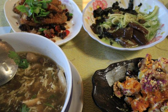 Julie's Garden B&B Cingjing: 晚餐