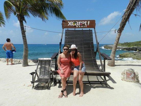 Xcaret Eco Theme Park: hamacas