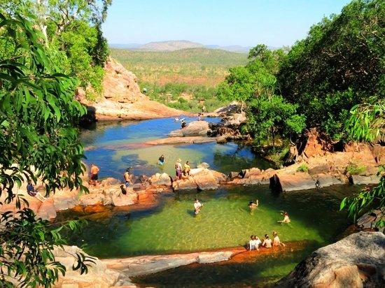 Gunlom Waterfall Creek: Breath taking