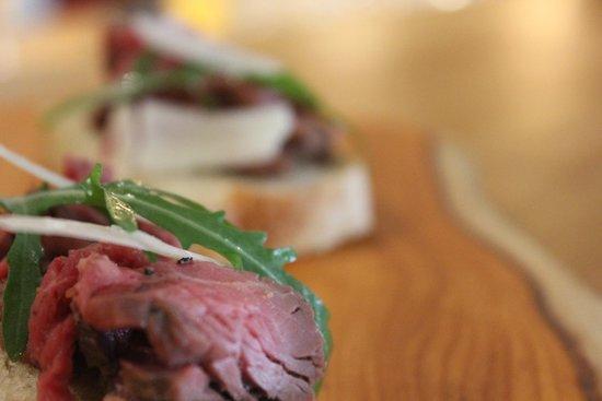 Cranes Wine Cafe: Carpaccio of beef