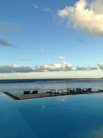 Breakas Beach Resort Vanuatu: View from the breakfast area