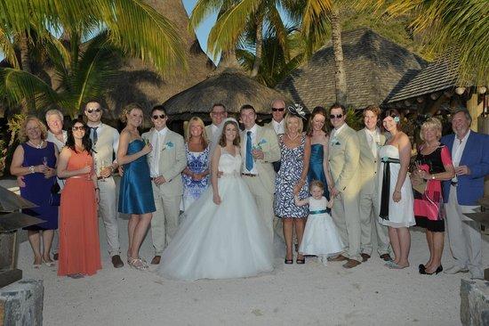 Paradis Beachcomber Golf Resort & Spa : Wedding day